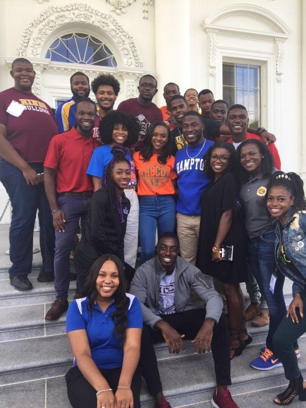 Estudiantes afro